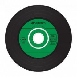 Verbatim CD-R Vintage Vinyl 10 stuks 700MB Slimcase - image #2