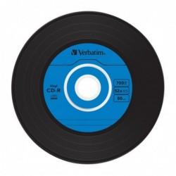 Verbatim CD-R Vintage Vinyl 10 stuks 700MB Slimcase - image #4