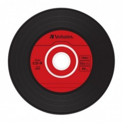 Verbatim CD-R Vintage Vinyl 10 stuks 700MB Slimcase - image #6