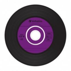 Verbatim CD-R Vintage Vinyl 10 stuks 700MB Slimcase - image #7