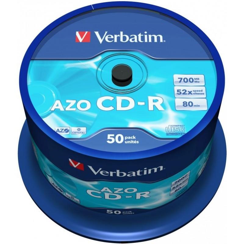 Verbatim CD-R AZO 50 stuks 700MB Spindle - image #1