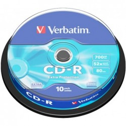 Verbatim CD-R Extra Protection 10 stuks 700MB Spindle - image #1