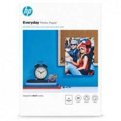 HP A4 - Glossy Fotopapier - 25 vellen - 200 gram - image #1