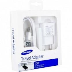 Samsung Micro-USB Thuislader - Stekker met Oplaadkabel - 2A - wit - image #3