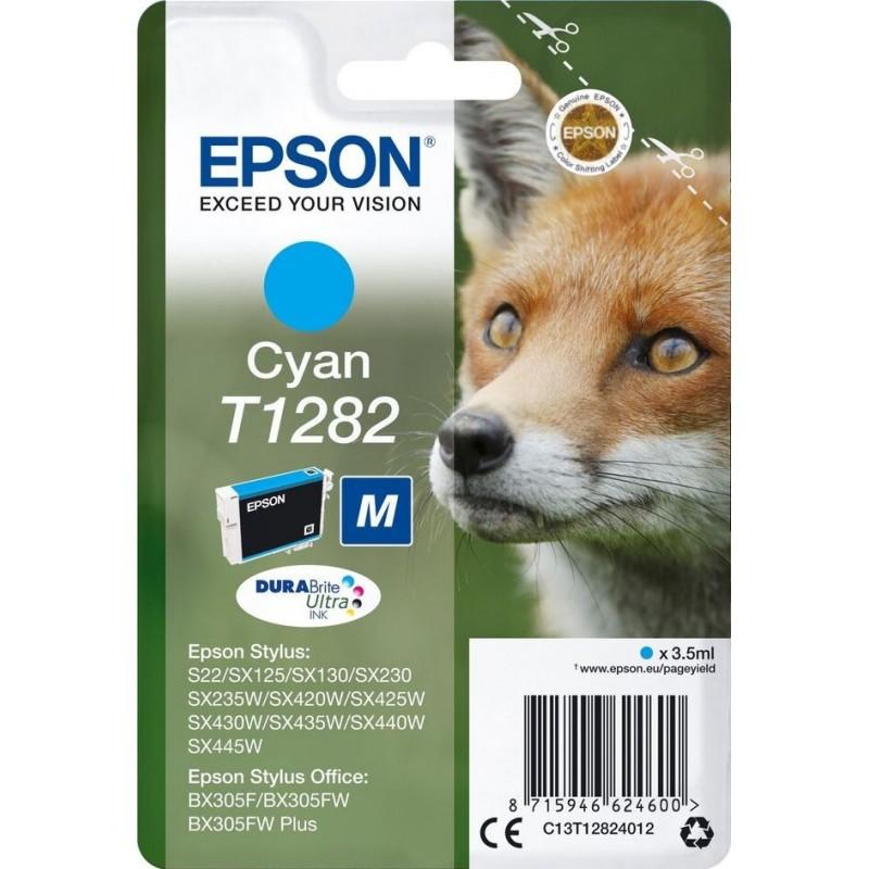 Epson T1282 Inktcartridge - Cyaan - image #1