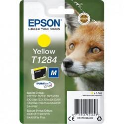 Epson T1284 Inktcartridge - Geel - image #1