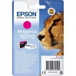 Epson T0713 Inktcartridge - Magenta - image #1