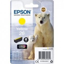 Epson 26 (T261440) Inktcartridge - Geel - image #1