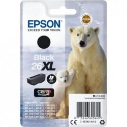Epson 26XL (T262140) Inktcartridge - Zwart - image #1