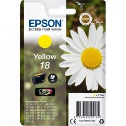 Epson 18 (T180440) Inktcartridge - Geel - image #1