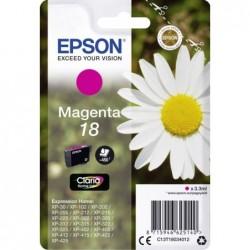 Epson 18 (T180340) Inktcartridge - Magenta - image #1