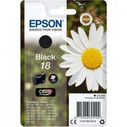 Epson 18 (T180140) Inktcartridge - Zwart - image #1