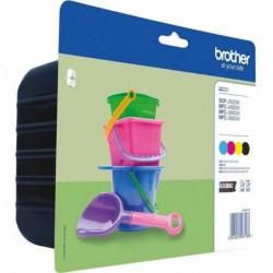 Brother LC221 Inktcartridge - Combipack - Zwart, cyaan, magenta, geel - image #1