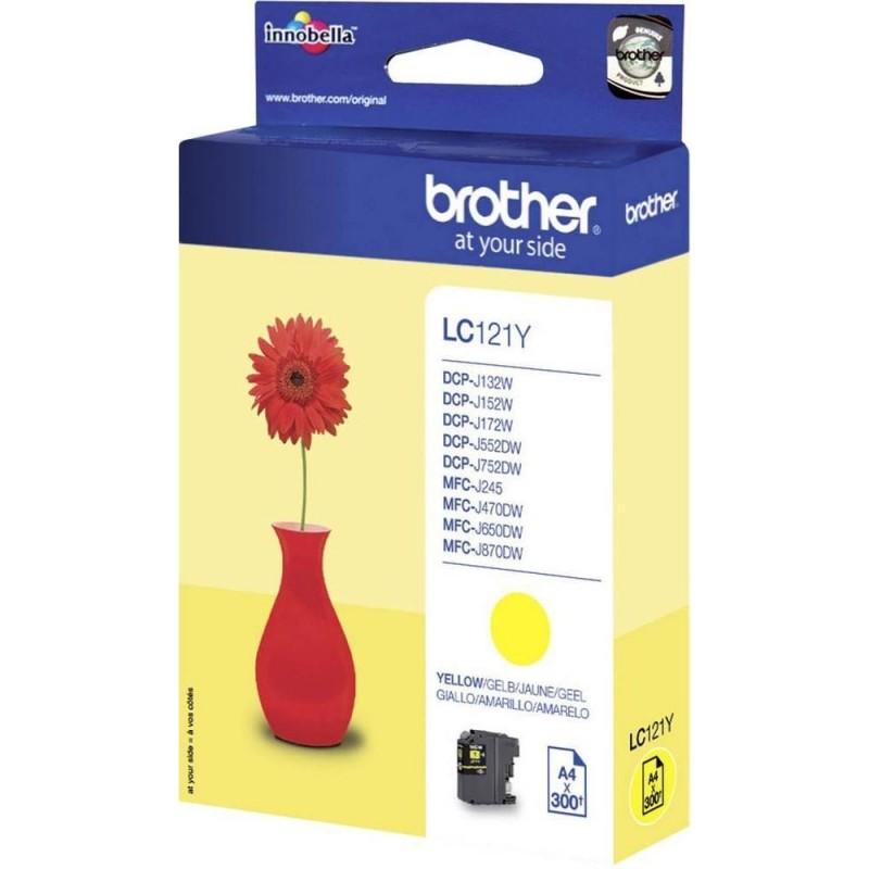 Brother LC121Y Inktcartridge - Geel - image #1