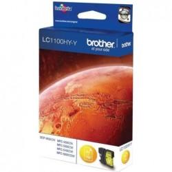 Brother LC1100HY-Y (XL) Inktcartridge - Geel - image #1