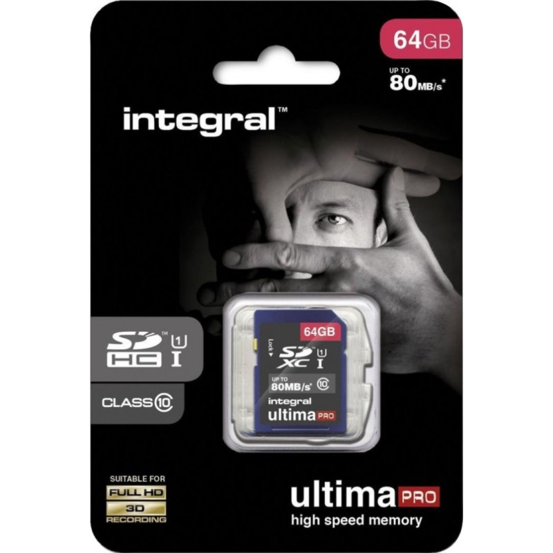 Integral SD Geheugenkaart 64GB - image #1
