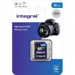 Integral SD Geheugenkaart 16GB - image #1