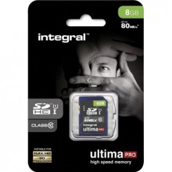 Integral SD Geheugenkaart 8GB - image #1
