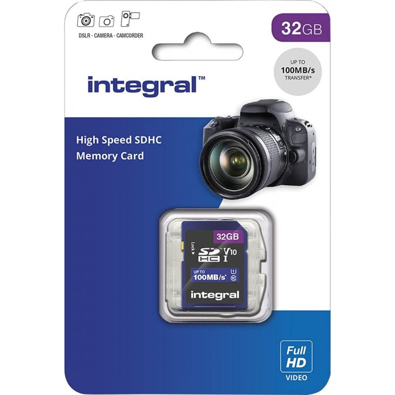 Integral SD Geheugenkaart 32GB - image #1