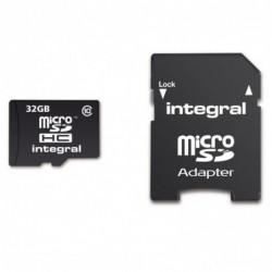 Integral Micro SD Kaart 32GB - incl. adapter - image #2