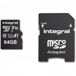 Integral Micro SD Kaart 64GB - incl. adapter - image #2