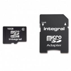 Integral Micro SD Kaart 16GB - incl. adapter - image #2