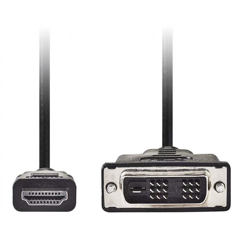 HDMI naar DVI-D Kabel - 1m - image #1