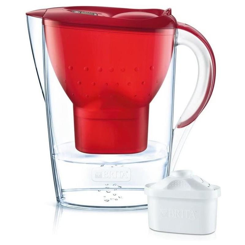 Brita Marella Cool Rood - Waterfilterkan + 1 Waterfilter - 2.4L - image #1