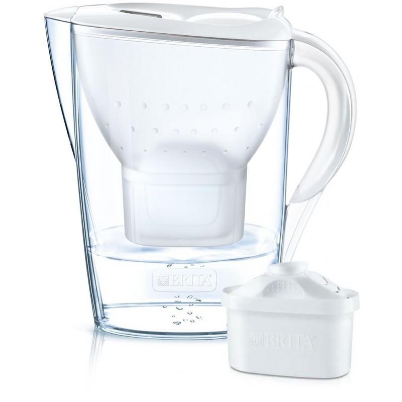 Brita Marella Cool Wit - Waterfilterkan + 1 Waterfilter - 2.4L - image #1