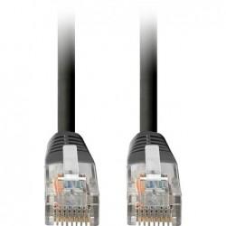 Internetkabel - 1m - CAT5E UTP Kabel - Zwart - image #1