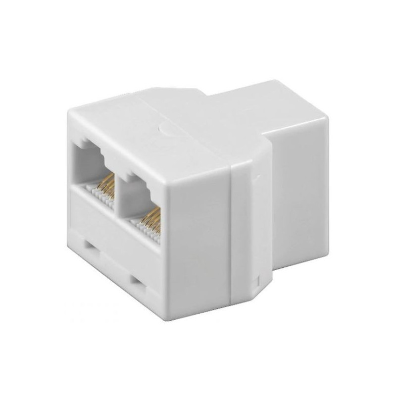 Internetkabel Splitter - 3X RJ45 female - image #1
