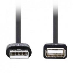 USB Verlengkabel - 0,5m - USB-A 2.0 - image #1