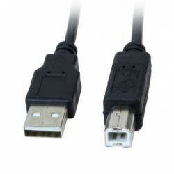 Printerkabel - 1,8m - USB-A naar USB-B Kabel - image #1