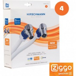 Hirschmann Coax CATV Aansluitkabel - 10m - image #2