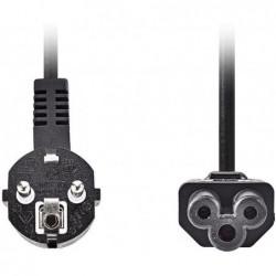 Apparaatsnoer C5 - 2m - Zwart - image #1