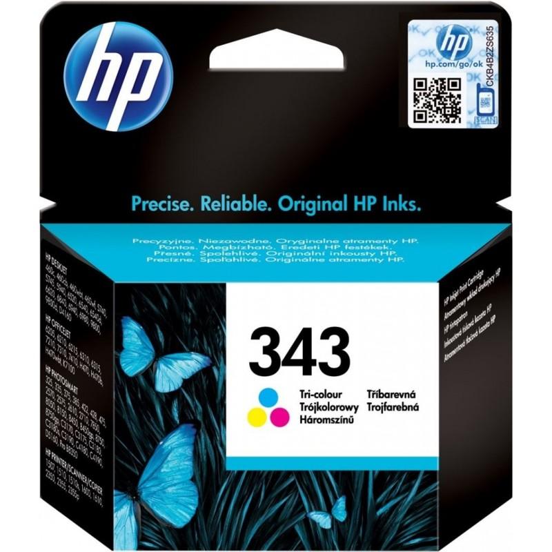 HP 343 Inktcartridge - Kleur - image #1