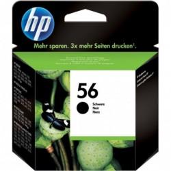 HP 56 Inktcartridge - Zwart - image #1