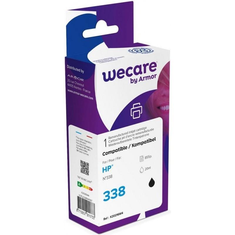 weCare WEC1160 - HP 338 Inktcartridge - Zwart - image #1