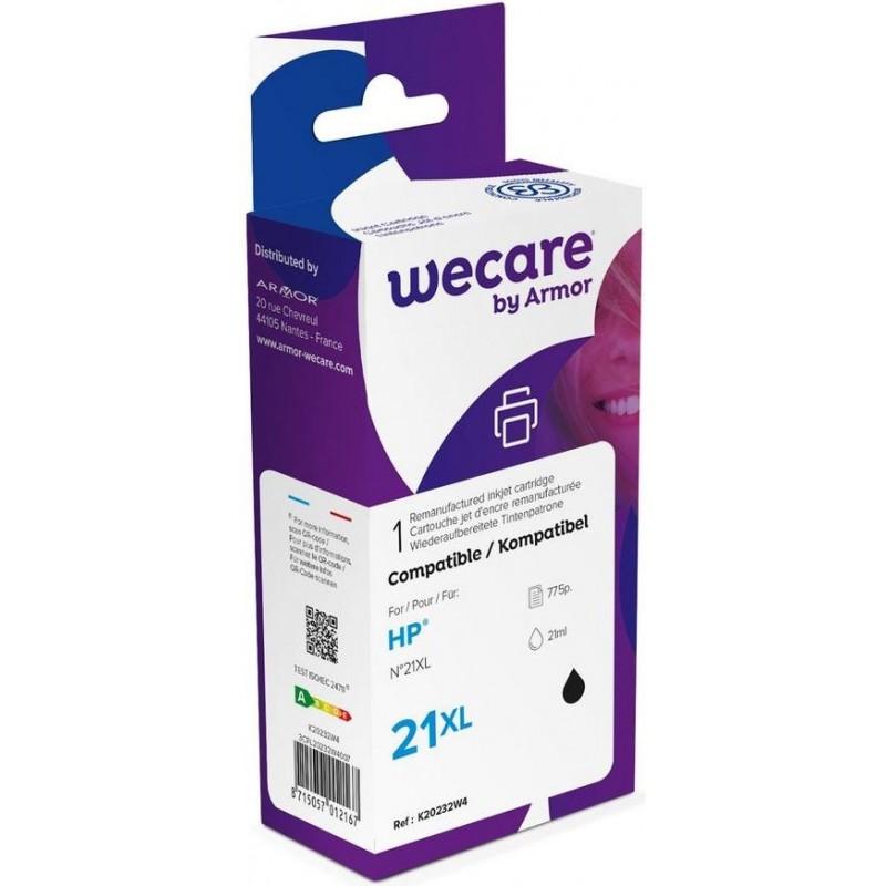 weCare WEC1106 - HP 21XL Inktcartridge - Zwart - image #1