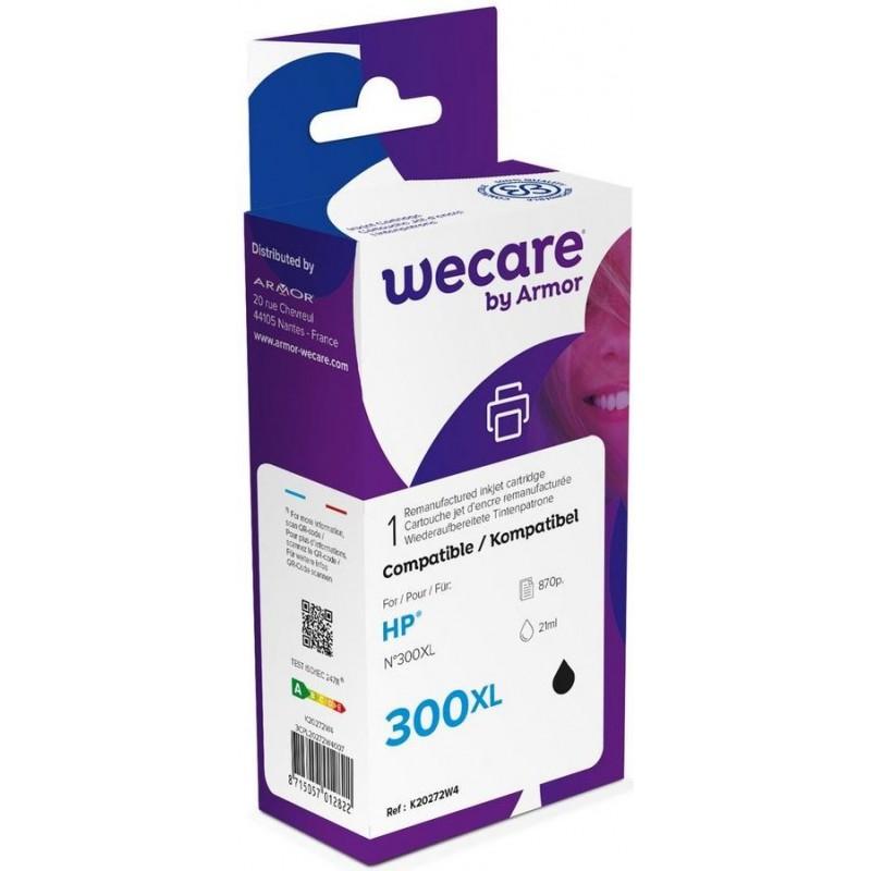 weCare WEC1216 - HP 300XL Inktcartridge - Zwart - image #1