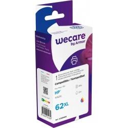 weCare WEC1224 - HP 62XL Inktcartridge - Kleur - image #1