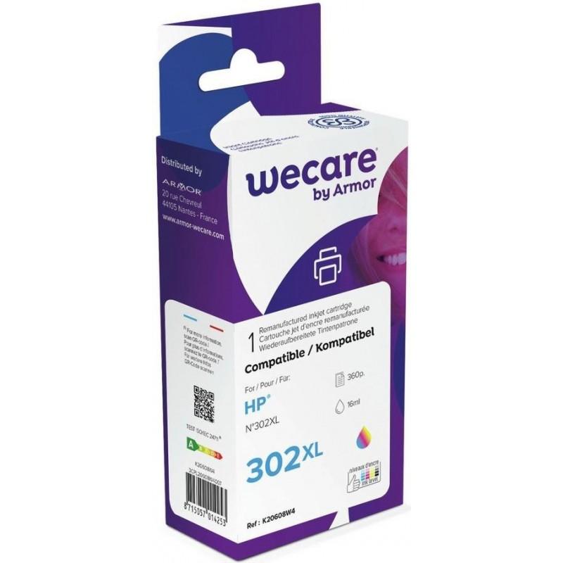 weCare WEC1227 - HP 302XL Inktcartridge - Kleur - image #1