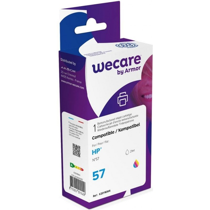 weCare WEC1121 - HP 57 Inktcartridge - Kleur - image #1