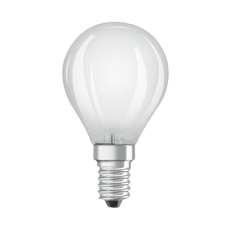 Osram Led e14 4w (40w) Kogellamp Mat - image #1