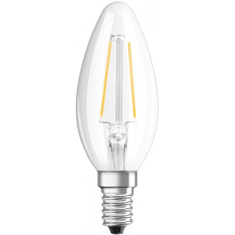 Osram Led e14 4w (40w) Kaarslamp Helder - image #1