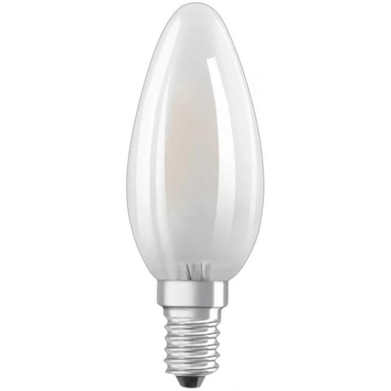 Osram Led e14 4w (40w) Kaarslamp Mat - image #1