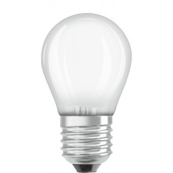 Osram Led E27 4w (40w) Kogellamp Mat - image #1