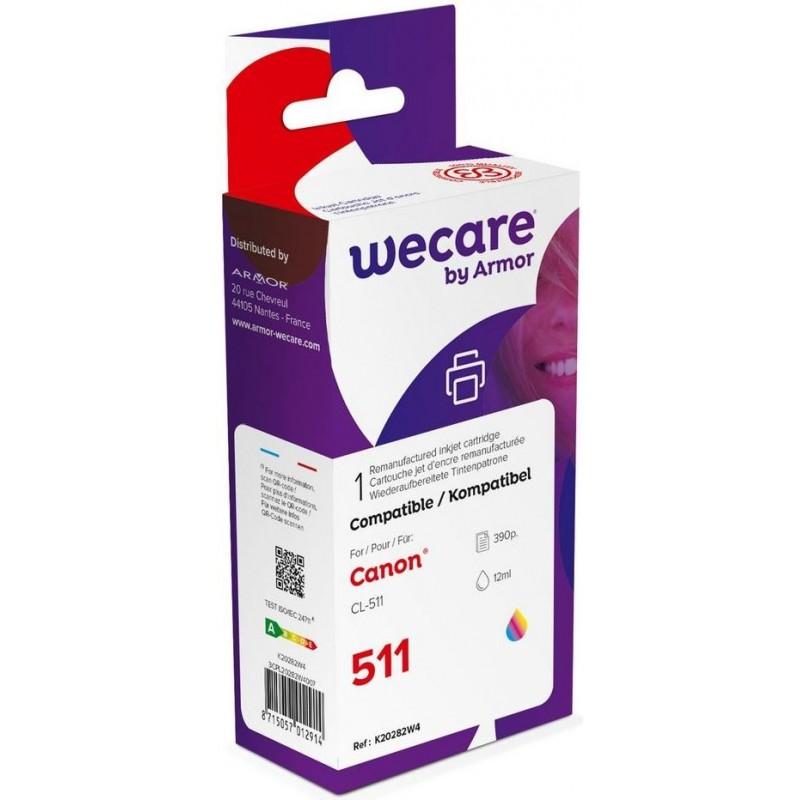 weCare WEC1301 - Canon CL-511 Inktcartridge - Kleur - image #1
