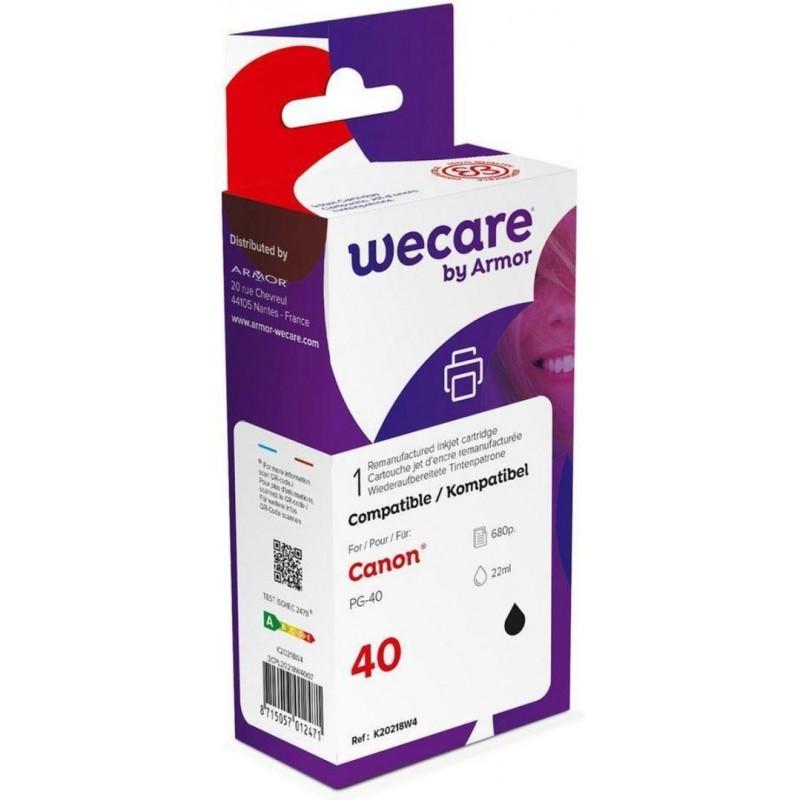 weCare WEC1148 - Canon PG-40 Inktcartridge - Zwart - image #1
