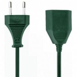 Verlengsnoer - 10m - 2x1.00mm - groen - image #1
